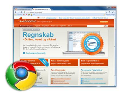 e-conomic i Chrome