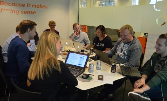 e-conomic-medarbejdere til forummøde