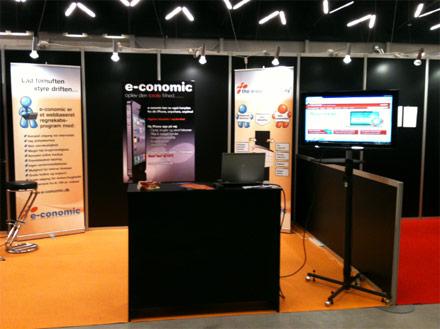 e-conomic stand