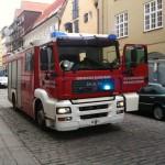 Københavns brandvæsen rykkede ud