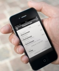 timegnu på iPhone
