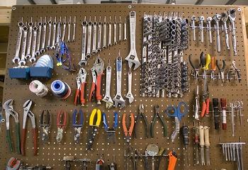 Blandet værktøj
